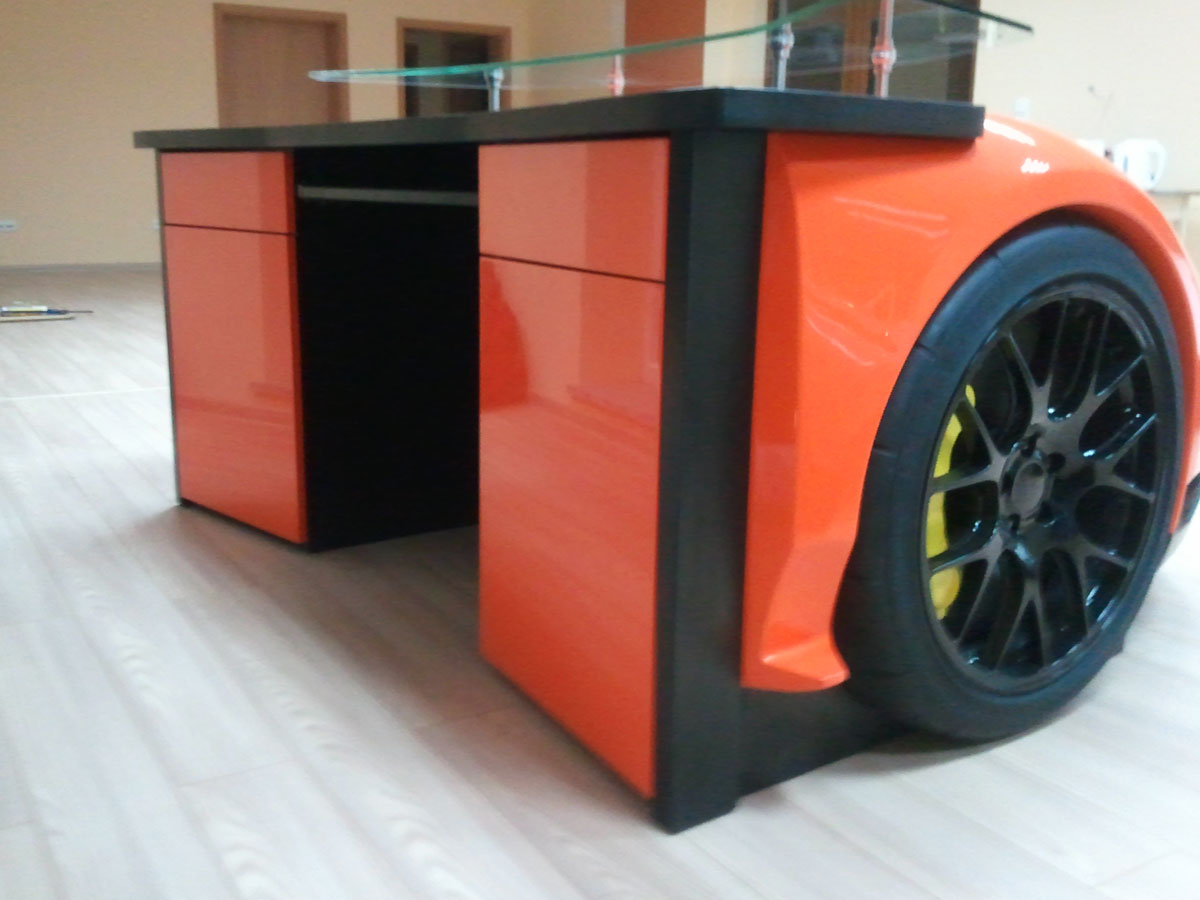 Bugatti Veyron Desk By Design Epicentrum Extravaganzi