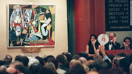 Picasso's Les Femmes d'Alger sold for a record-breaking $179,365,000