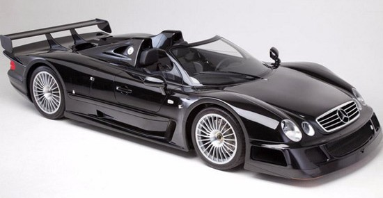 One Of Six Copies Of Mercedes CLK GTR Roadster At Auction