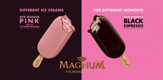 Miranda Kerr's New Magnum Ice Cream