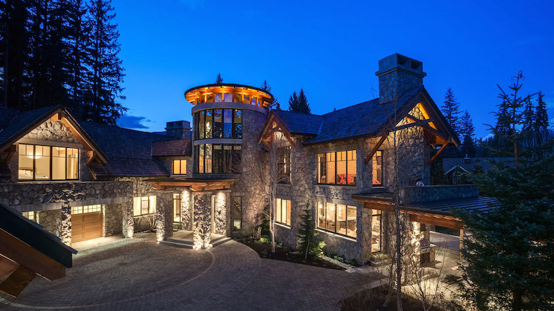 Mountain Estate In Whistler, B.C. On Sale for $22 Million