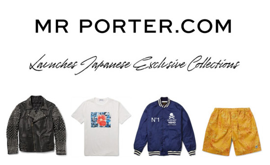 Mr Porter unveils new Japanese capsule collections