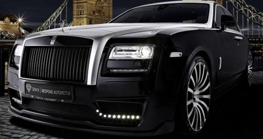 Onyx Concept Rolls-Royce Ghost San Moritz