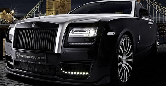 Onyx Concept Rolls-Royce Ghost San Moritz Special Edition