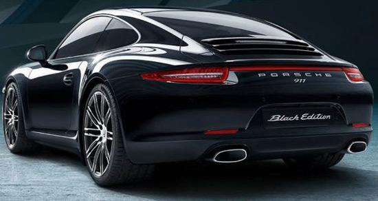 Porsche 911 Carrera Black Edition Boxster
