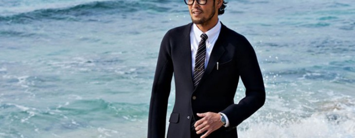 Quicksilver's True Wetsuits for Businessmen