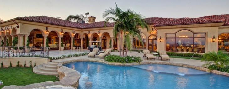 Villa Italco – Extravagant Rancho Santa Fe Estate Next To  Go-cart Track