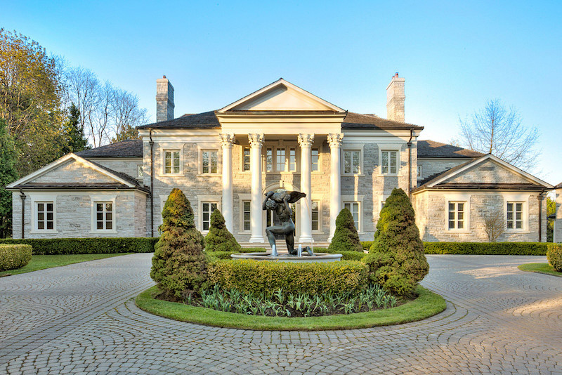 Regina George's NeoClassical Solid Stone Estate