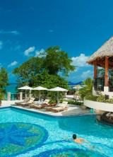 Sandals Ochi Beach Resort in Jamaica With Remarkable 105 Pools
