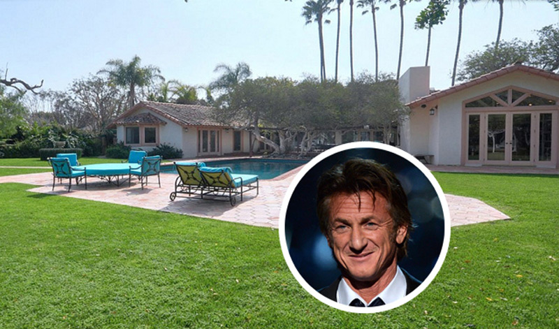 Sean Penn's Malibu Estate on Sale for $6,55 Million