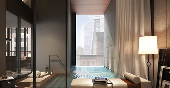 Luxe Private Pools of the Soori High Line Condos