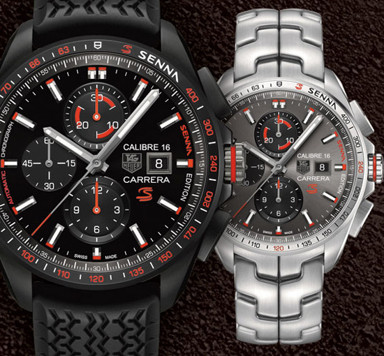 TAG Heuer Ayrton Senna Special Collection