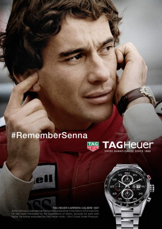 TAG Heuer Ayrton Senna Special Collection