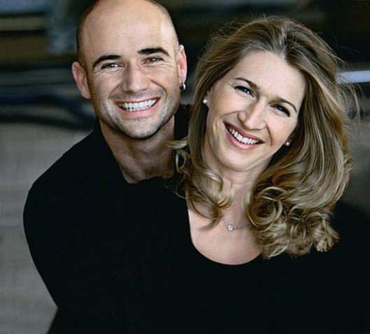 One-on-One Tennis Lesson with Andre Agassi & Steffi Graf in Las Vegas