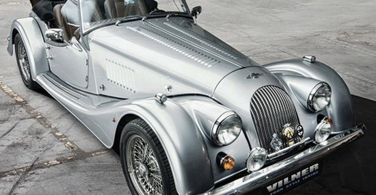 British Morgan Plus 8 Model By Vilner