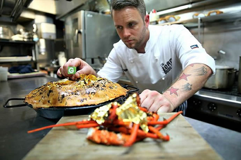 Sidney Chef Paul Medcalf Creates World's Most Expensive Pie At $12,000