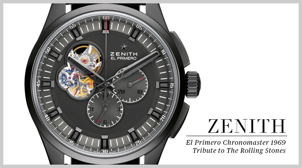Zenith El Primero Chronomaster 1969 Tribute To The Rolling Stones
