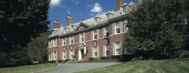 1920s Brick Georgian Lists in New Jersey for $13.5-Million