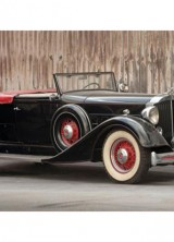 1934 Packard Eight Coupe Roadster at Auctions America's California Sale