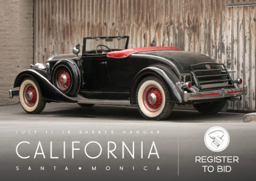 1934 Packard Eight Coupe Roadster
