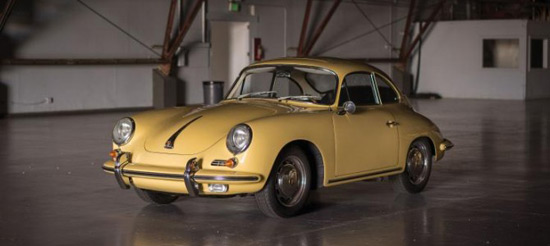 1964 Porsche 356C 1600 SC 'Sunroof' Coupe by Reutter