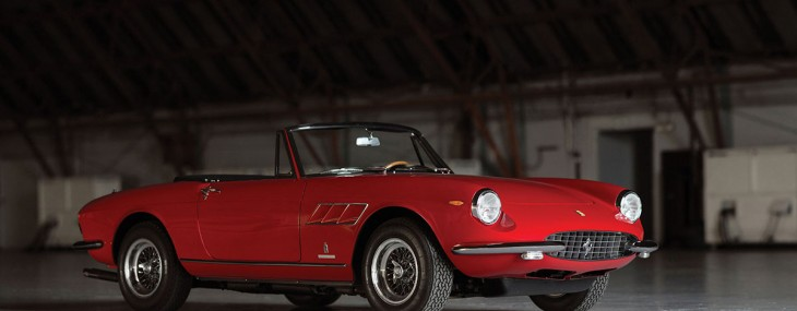 1967 Ferrari 330 GTS at Auctions America's California Sale