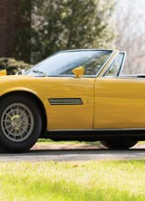 Unique 1968 Maserati Ghibli Spyder Prototype At Auction