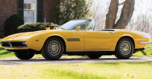 1968 Maserati Ghibli Spyder Prototype