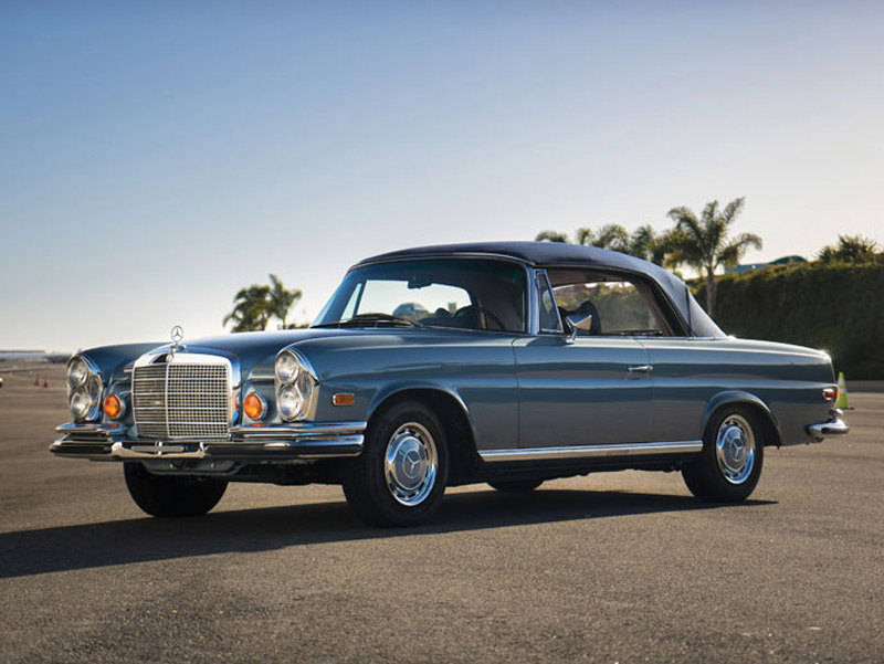 1971 mercedes benz 280se 3 5 cabriolet at auctions america. Black Bedroom Furniture Sets. Home Design Ideas