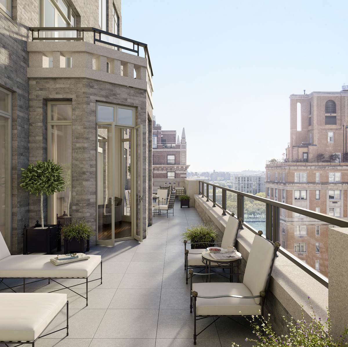 20 east end avenue new luxury residential building in for 20 river terrace ny