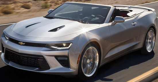 New 2016 Chevrolet Camaro Convertible