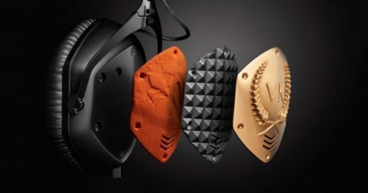 3D Printed Gold Plated Headphones by V-MODA