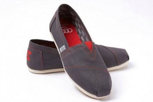 AUDI & TOMS Shoes