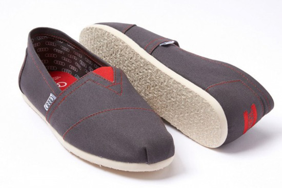AUDI & TOMS Shoes