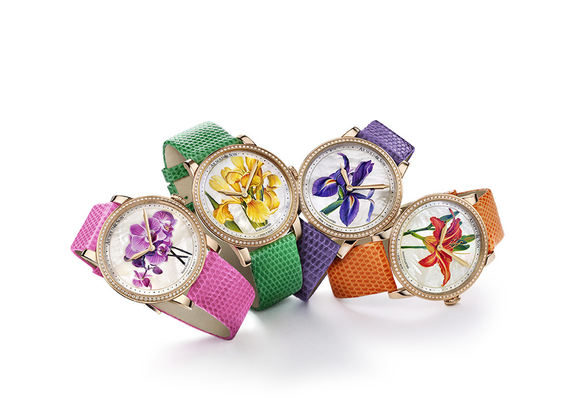 Arnold & Son's HM Flower Special Editions