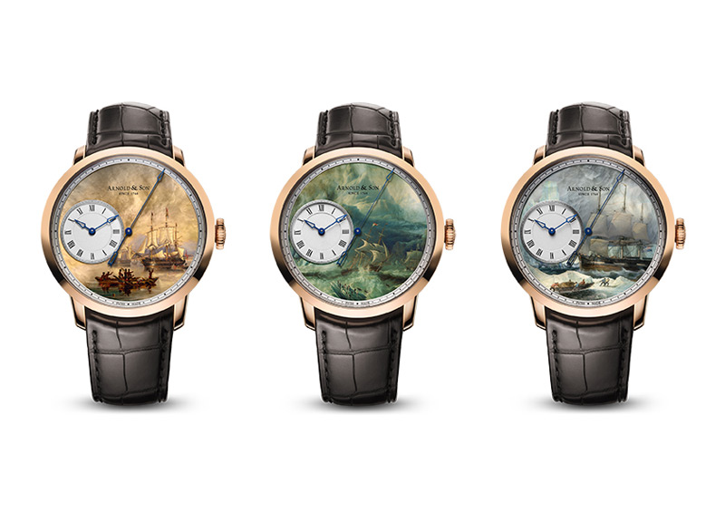 Arnold & Son's Sir John Franklin Set of Three Timepieces