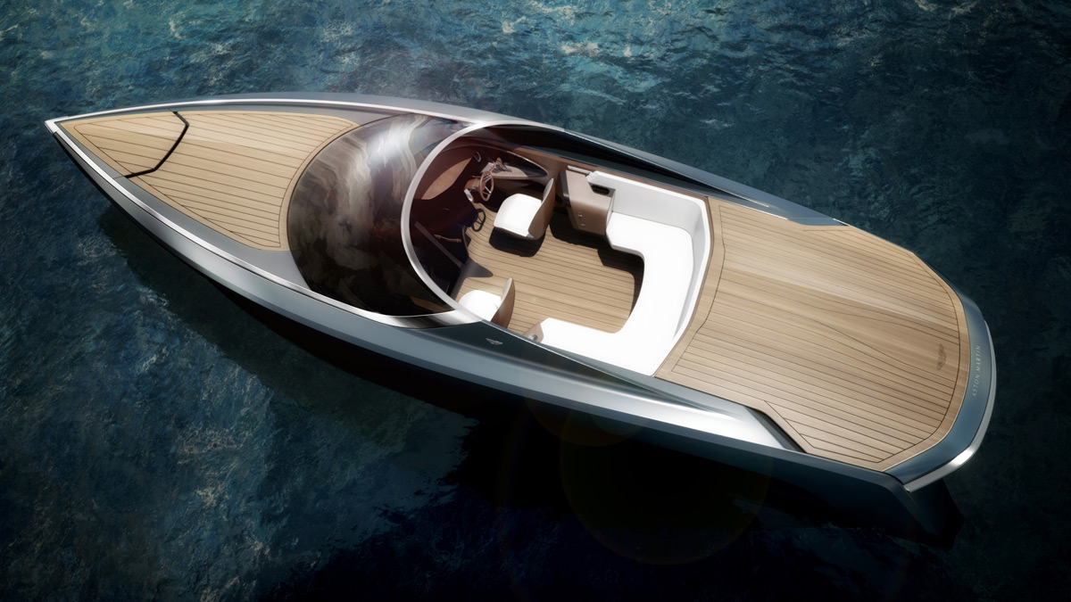 Aston Martin's Very First Power Boat is Here