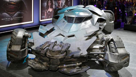 Batmobile From Batman vs. Superman: Dawn Of Justice