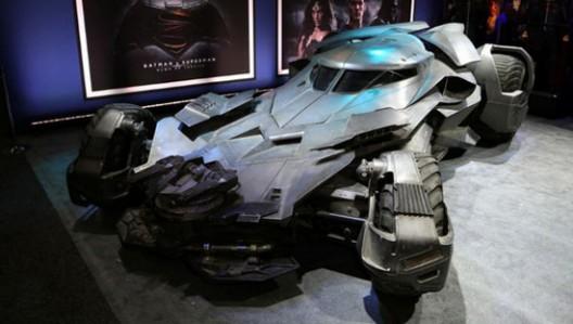 Batmobile From Batman vs. Superman: Dawn Of Justice