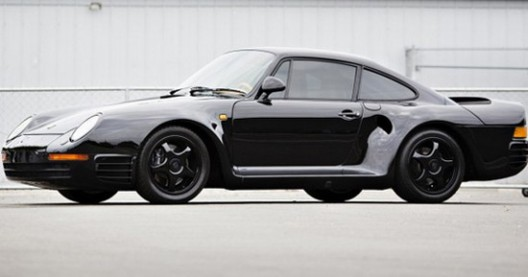 Special gloss black Porsche 959
