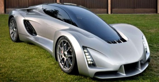 Blade – The World's First 3-D Printed Supercar