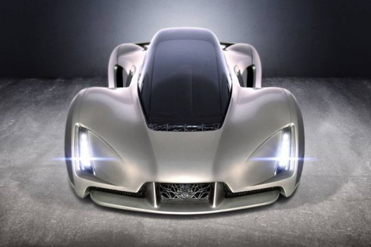 Blade 3-D Printed Supercar