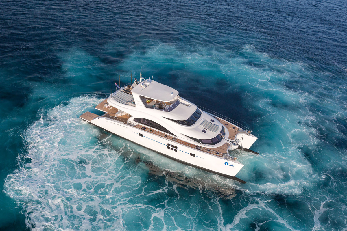Blue Belly - Sunreef Yachts' New Luxury Catamaran
