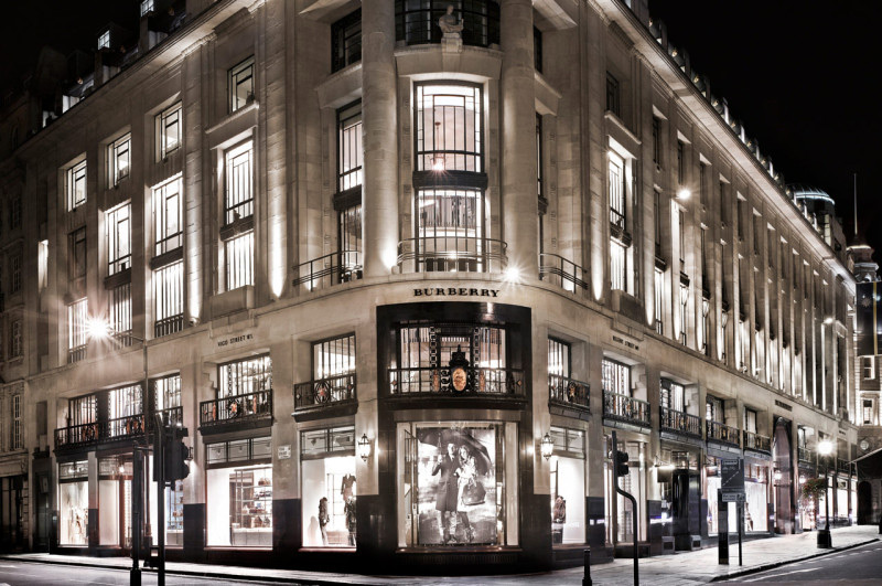 Burberry Opens Its First Café At Its London Flagship Store