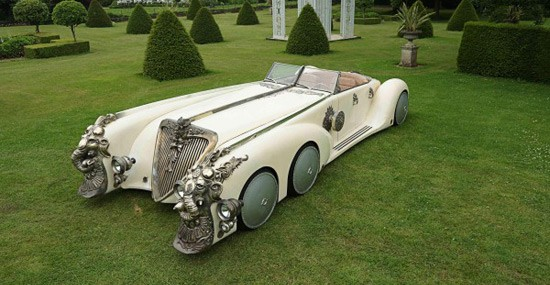 Captain Nemo's Six-Wheeled Nautilus Car Goes Under the Hammer