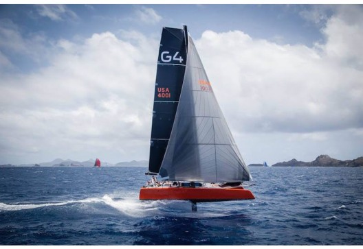 First Luxury 70-foot Catamaran With Hydrofoil Technology
