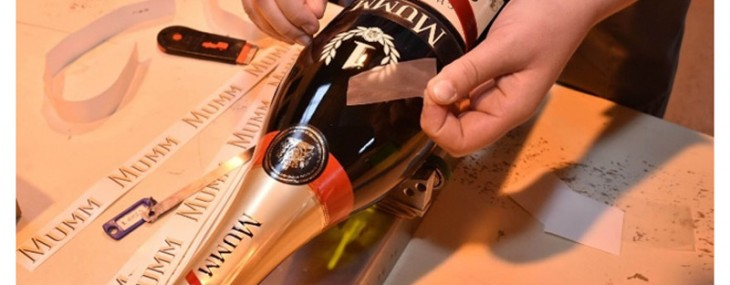 World's First Connected Champagne by GH Mumm