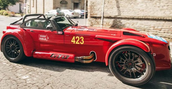 Special Donkervoort D8 GTO 1000 Miglia Edition