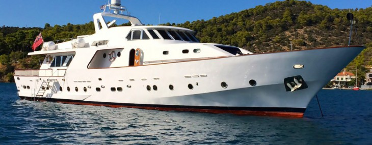 Refitted Elvis Superyacht by CRN