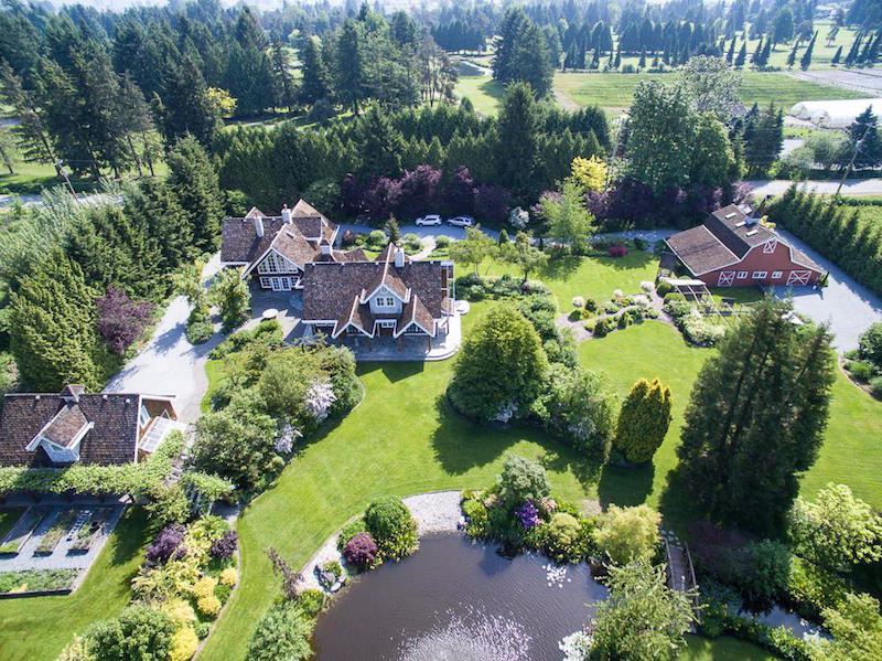 Fairytale Estate in Pitt Meadows for $4.998-Million